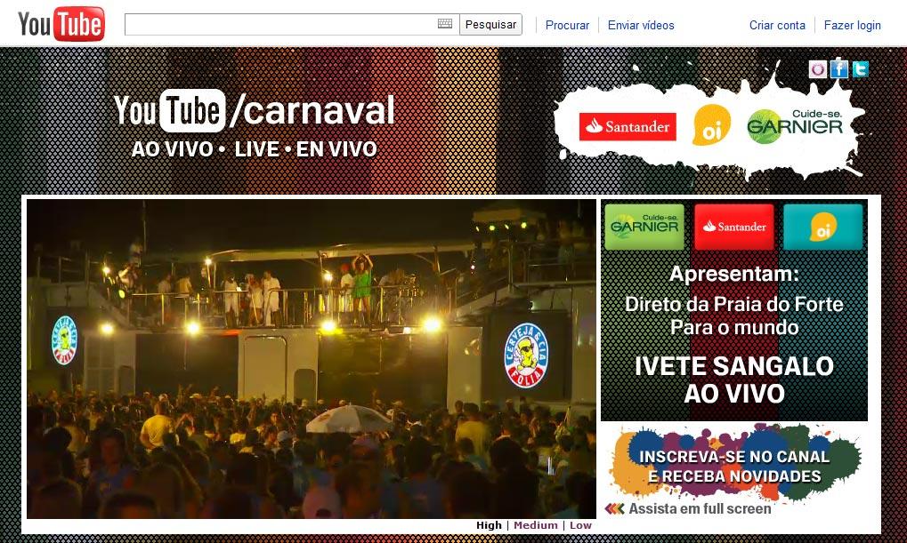 Show Ivente sangalo Carnaval da Bahia praia do forte